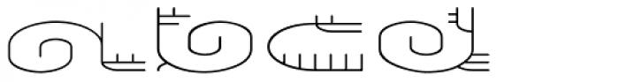 Varbur Light Font UPPERCASE