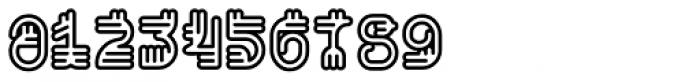 Varbur Outline Bold Font OTHER CHARS