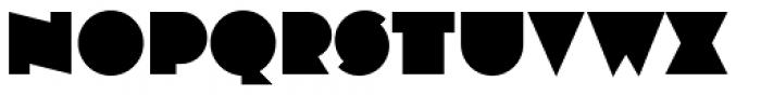 Varese Regular Font UPPERCASE
