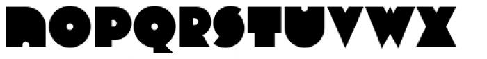 Varese Regular Font LOWERCASE