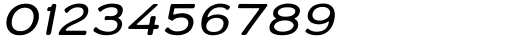 Varet Gothic Light Italic Font OTHER CHARS