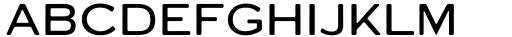 Varet Gothic Light Font UPPERCASE