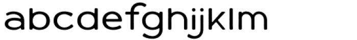 Varet Gothic Light Font LOWERCASE