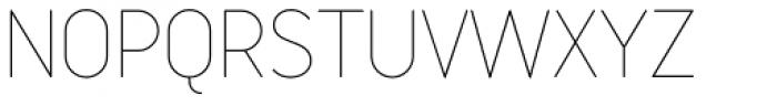 Variable Light Font UPPERCASE