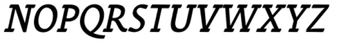 Varidox Almost Italic Font UPPERCASE