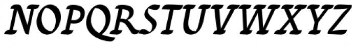 Varidox Invert Italic Font UPPERCASE
