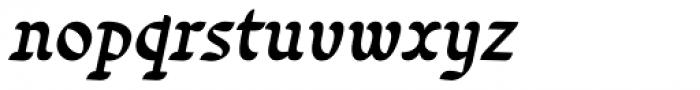 Varidox Invert Italic Font LOWERCASE