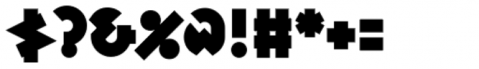 Variex Bold Font OTHER CHARS