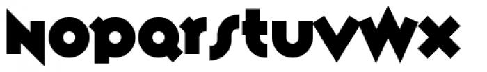 Variex Bold Font UPPERCASE