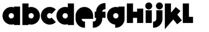 Variex Bold Font LOWERCASE