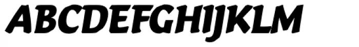 Vario Italic Font UPPERCASE