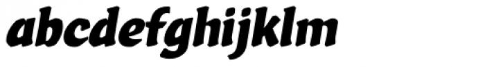 Vario Italic Font LOWERCASE