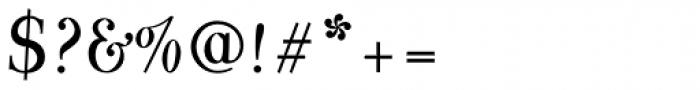 Varius 1 LT Std Italic Font OTHER CHARS