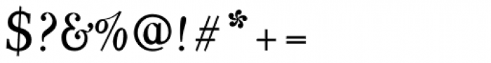 Varius 2 LT Std Italic Font OTHER CHARS