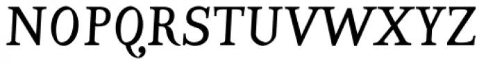 Varius 2 LT Std Italic Font UPPERCASE