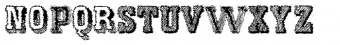 Varius Multiplex Multiformis Trash Font UPPERCASE