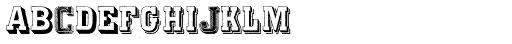 Varius Multiplex Multiformis Font LOWERCASE