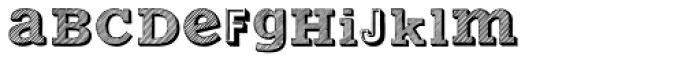 Varius Multiplex Two Font LOWERCASE