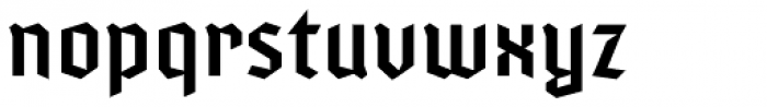 Varna Regular Font LOWERCASE