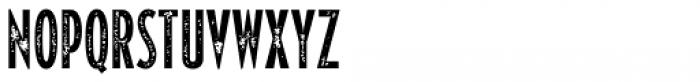 Varvara Rough Light Font UPPERCASE