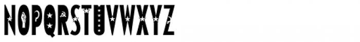 Varvara Star Light Font UPPERCASE