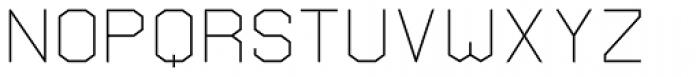 Vasarely Light Font UPPERCASE