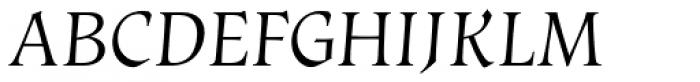 Vatican Light Font UPPERCASE