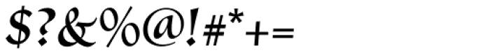 Vatican Medium Font OTHER CHARS