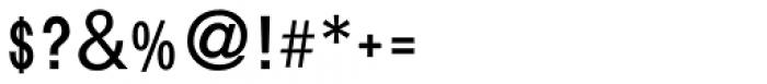 Vatik Condensed MF Regular Font OTHER CHARS