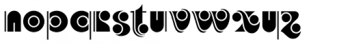 Vauxhall NF Font LOWERCASE