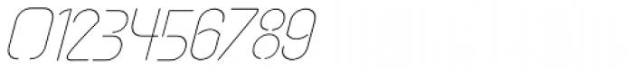 vastra Light Italic Font OTHER CHARS