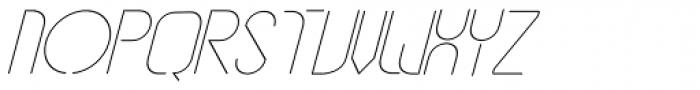 vastra Light Italic Font UPPERCASE