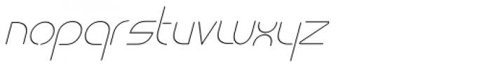 vastra Light Italic Font LOWERCASE
