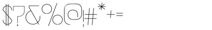 vastra Light Font OTHER CHARS