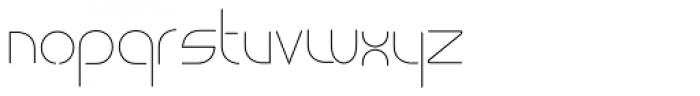 vastra Light Font LOWERCASE