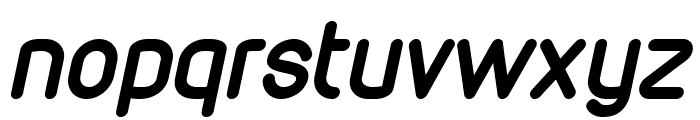 VDS Bold Italic Font LOWERCASE