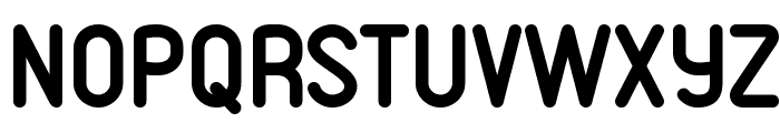 VDS Bold Font UPPERCASE