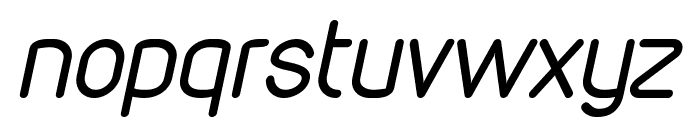VDS Compensated Light Italic Font LOWERCASE