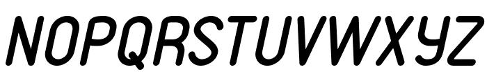 VDS Italic Font UPPERCASE