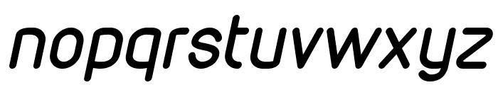 VDS Italic Font LOWERCASE