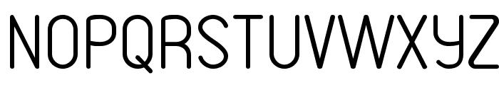 VDS Thin Font UPPERCASE