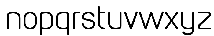 VDS Thin Font LOWERCASE