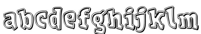Vdevaca-Bold Font LOWERCASE