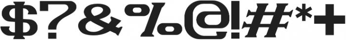 VELVET otf (400) Font OTHER CHARS