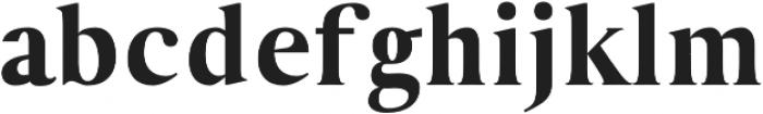 VERITAS Regular otf (400) Font LOWERCASE
