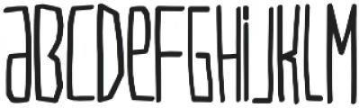 VERSIONTYPe otf (400) Font LOWERCASE