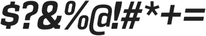 Vectipede Bold Italic otf (700) Font OTHER CHARS