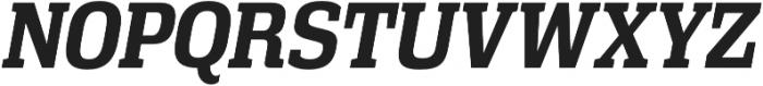 Vectipede Bold Italic otf (700) Font UPPERCASE
