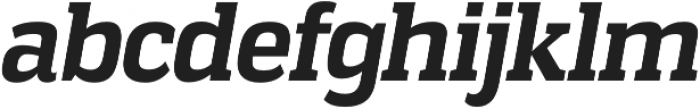 Vectipede Bold Italic otf (700) Font LOWERCASE