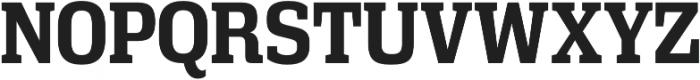 Vectipede Bold otf (700) Font UPPERCASE